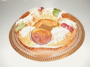 Roscón de Reyes. Pastelería Torrente.